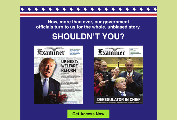The Washington Examiner Email