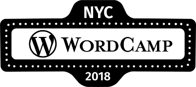 WordCamp NYC logo 2018 idea 5