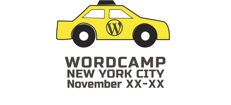 WordCamp NYC 2018 logo idea 4